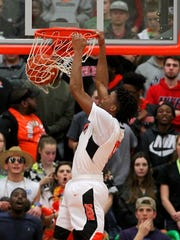 Burkburnett's Jalen White thrived at Burkburnett and will continue playing basketball at Dallas Baptist University.