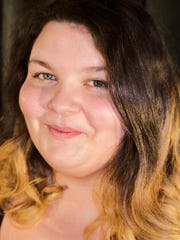 """Alli Payne plays Tracey Turnblad in the Salisbury University production of """"Hairspray."""" The shows will be held April 7-8 and April 13-15, 2018."""