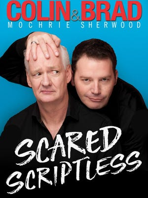 """Brad Sherwood and Brad Sherwood will bring comedy improv to Wharton on Saturday, April 7, with """"Scared Scriptless."""""""