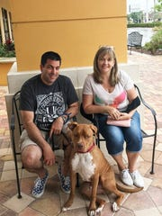 Brenda & Bill Wahl,brought Rex for a visit and for
