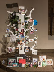 Each morning, camp begins with children sharing memories and pinning photos of their loved ones on the Memory Tree.  The experience gives children an outlet to discuss their feelings.