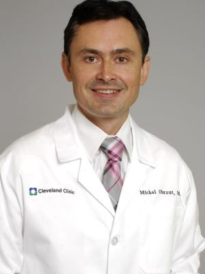 Cleveland Clinic Florida neuro-interventional radiologist Dr. Michal Obzrut.