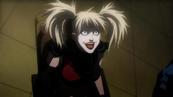 "Harley Quinn, voiced by Hynden Walch, is one of the key characters in ""Batman: Assault on Arkham."""
