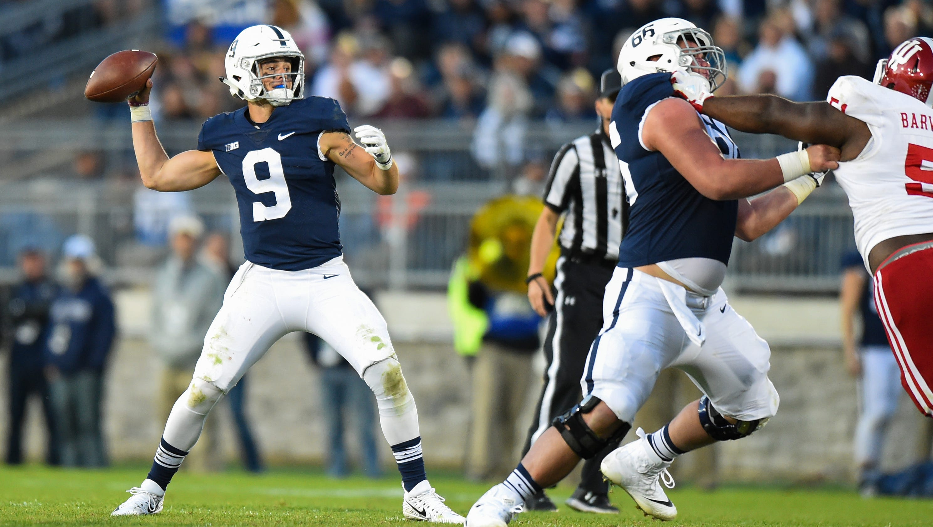 Saquon Barkley is Penn State\'s star, QB Trace McSorley sets the tone
