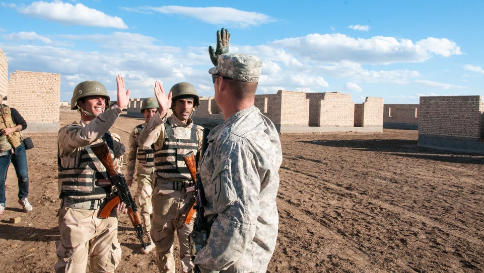 Staff Sgt. Jacob Sweet, an infantry trainer assigned