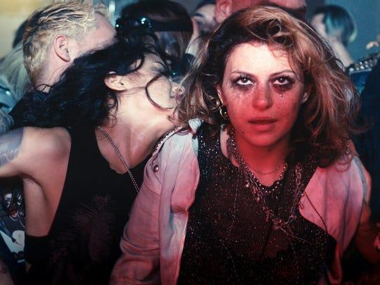 "Alia Shawkat (right) in a scene from ""Paint it Black."""