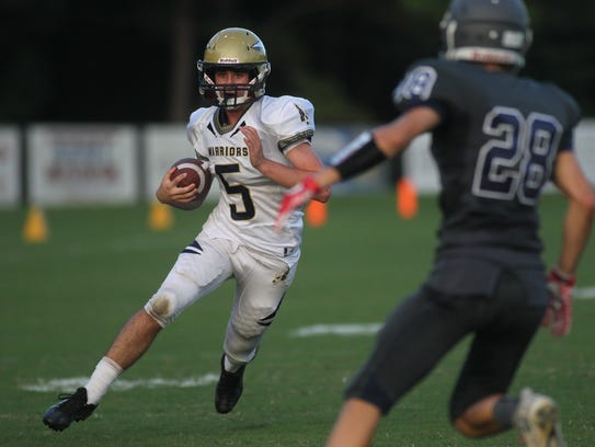 Aucilla Christian's Blake Wirick ran for 212 yards