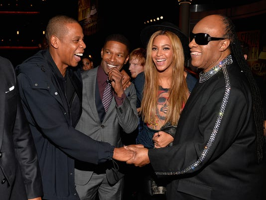 Beyonce, Gaga pay tribute to Stevie Wonder