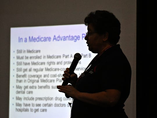 Medicare is discussed during the York County 50-Plus
