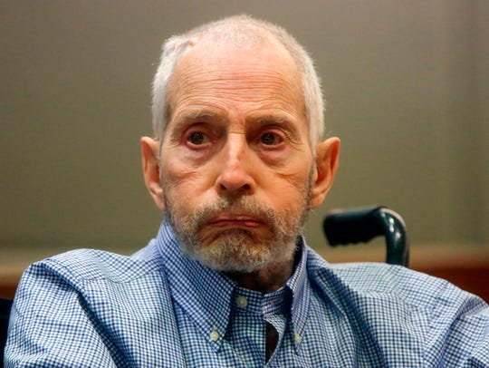 Real estate heir Robert Durst appears in a Los Angeles