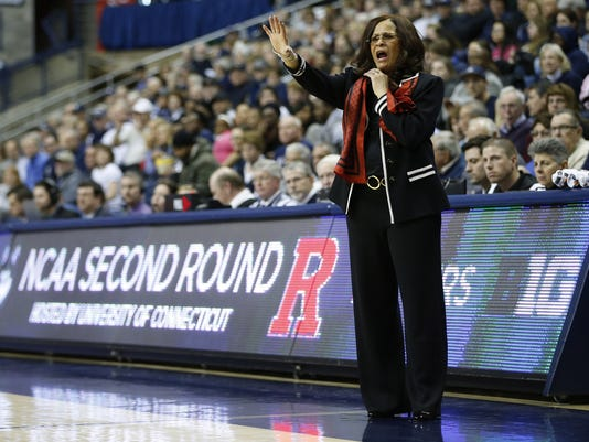 NCAA Womens Basketball: NCAA Tournament-2nd Round-Rutgers vs Connecticut
