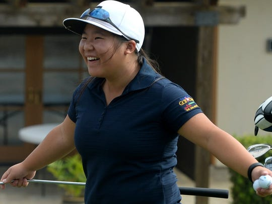 After her time playing golf at Oak Park High is over, Karisa Toy is hoping to study film at New York University.