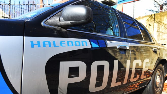 Haledon Police Department patrol car.