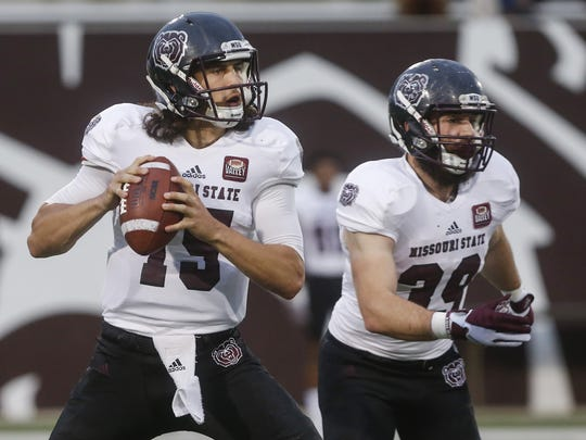 Peyton Huslig was named Missouri State's starting quarterback