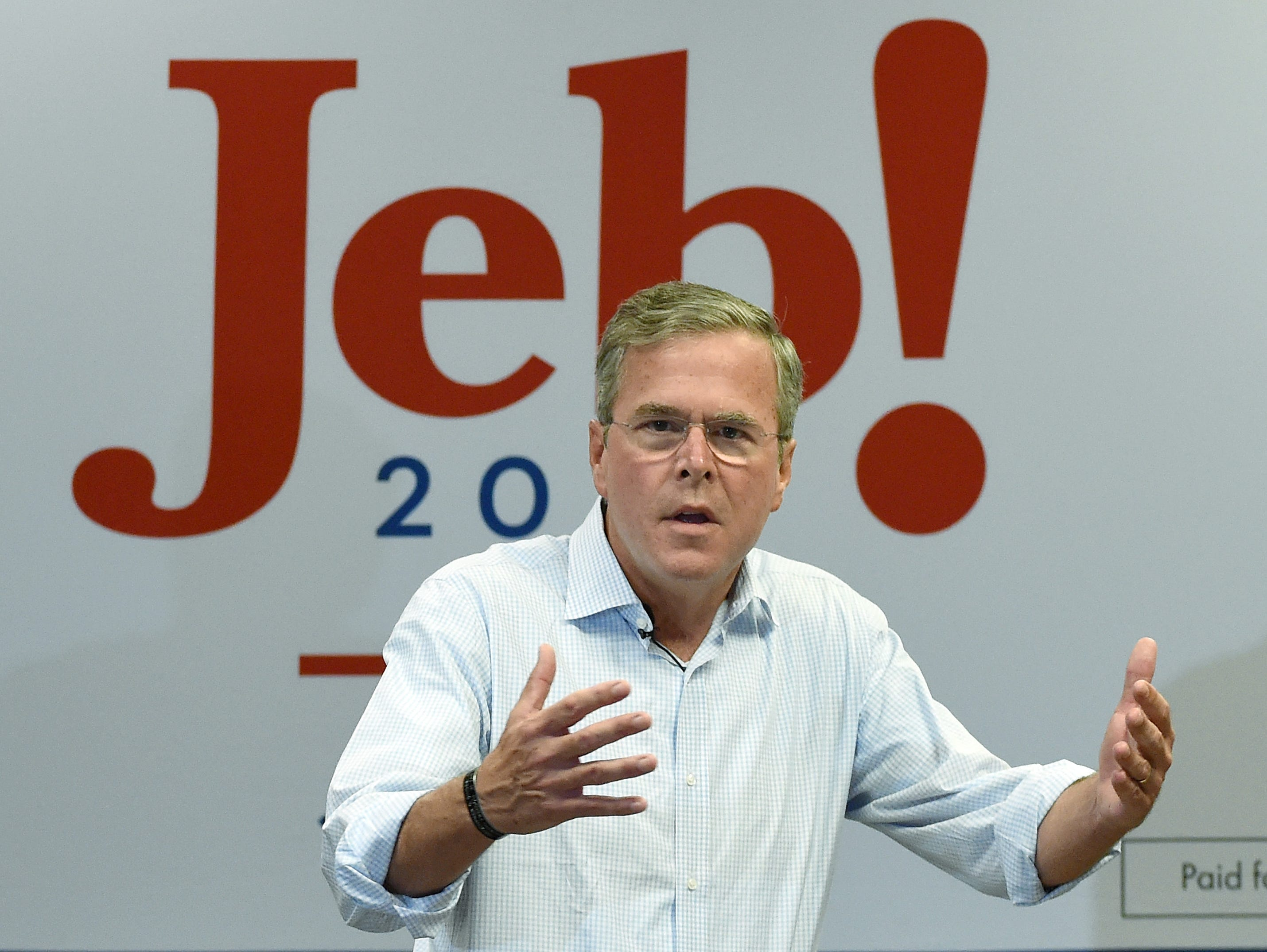 Republican presidential candidate Jeb Bush will be in Knoxville this weekend.