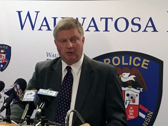 Wauwatosa Police Chief Barry Weber announces no charges will be filed against Officer Joseph Mensah in the shooting death of Jay Anderson.