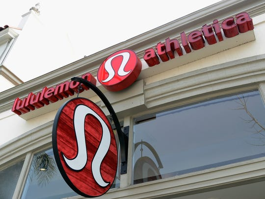 File photo taken in 2013 shows a Lululemon Athletica