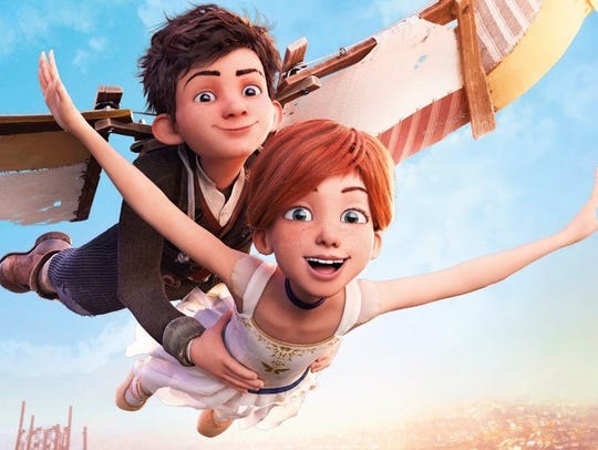 """The new animated film """"Leap!"""" opens Aug. 25."""