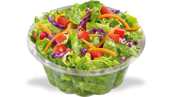 Dairy Queen does have side salads. I still love their