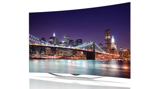 LG Electronics' new 55-inch Curved OLED TV (Model 55EC9300) is available beginning this month at various retailers nationwide. Suggested price: $3,499.