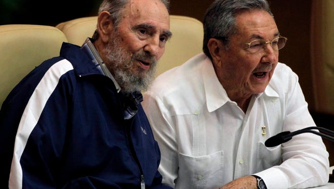Cuba is expected to name a new president April 19, 2018, which would mark the first time a Castro is not head of state in nearly 60 years. In this 2011 file photo, former president Fidel Castro, left, and his brother, President Raúl Castro, attend the 6th Congress of the Cuban Communist Party in Havana.