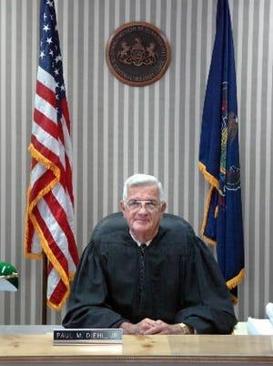 Retired York County District Justice Paul Diehl Jr.