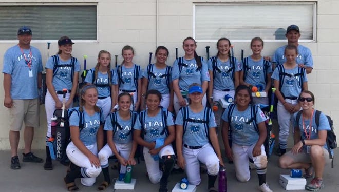 Cedar National poses for a picture during West Region play in San Bernardino, California last month. The girls from Cedar City became just the second team from Utah to make it to the Little League World Series.