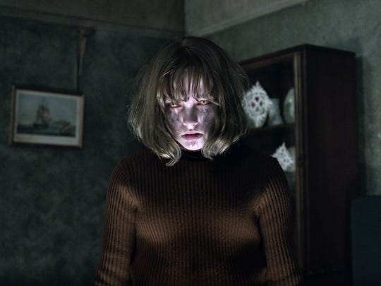 Madison Wolfe is a possessed youngster in 'The Conjuring