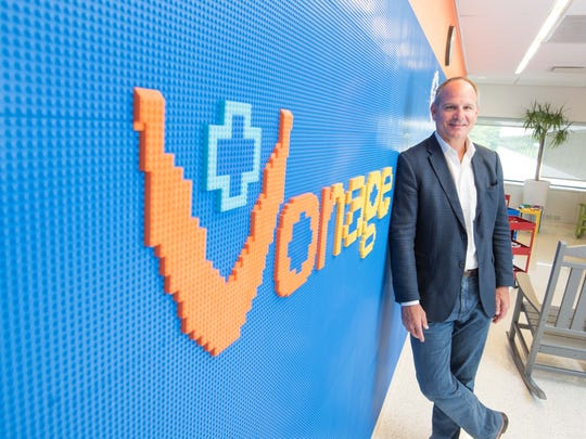 Alan Masarek, CEO of Vonage in the Holmdel headquarters.