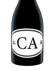 The CA bottle from Locations wines.