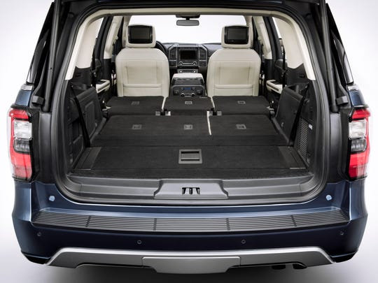All-New Ford Expedition Full-Size SUV with Adaptable Interior and Smart Technology for Every Occupant