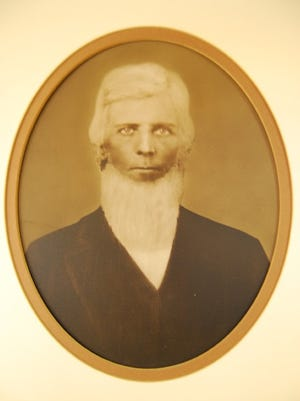 The surviving portrait of Ben Dowell, El Paso's first mayor.