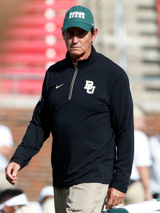 NCAA Football: Baylor at Southern Methodist