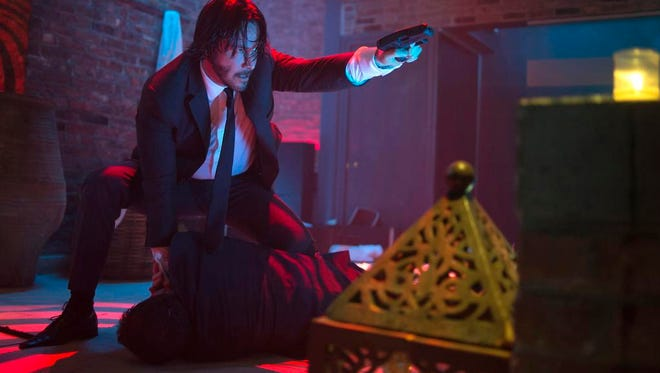 """Keanu Reeves as John Wick in a scene from the film, """"John Wick."""""""