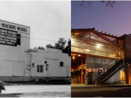The ASU School of Art, before and after.