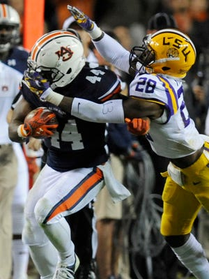 Auburn running back Cameron Artis-Payne is averaging 5.19 yards per carry on first downs.
