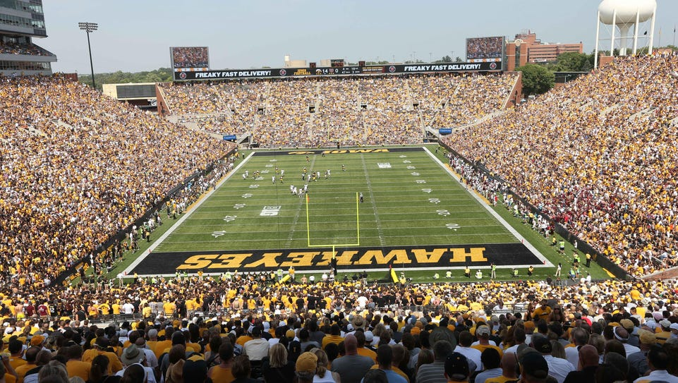 The Iowa football program has received four knowns