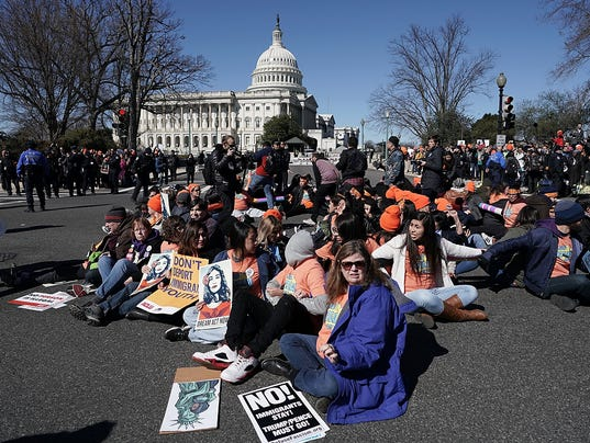 DACA Protestors Rally At U.S. Capitol For Action For DREAMers