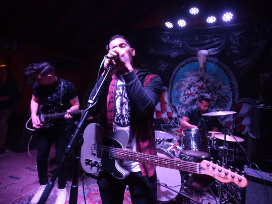 Kayves, an electro-rock band from Cathedral City influenced by Joy Division, Bloc Party, Interpol and The Cure also advanced Thursday night.