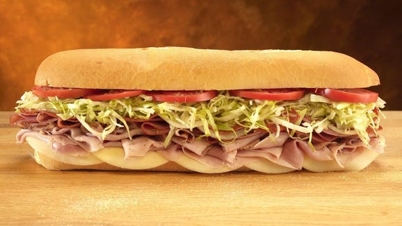CONTRIBUTED PHOTO Sub sandwiches will be served at Jersey Mike's Subs, which will open its second Corpus Christi location July 13 at 1813 Ennis Joslin Road.