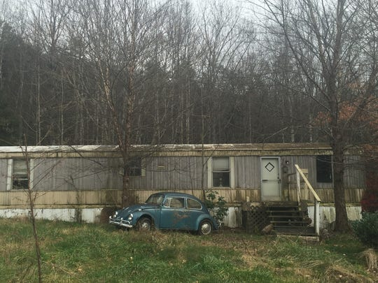 Robert Lewis Dear lived in this mobile home in Swannanoa, N.C., until about a year ago.