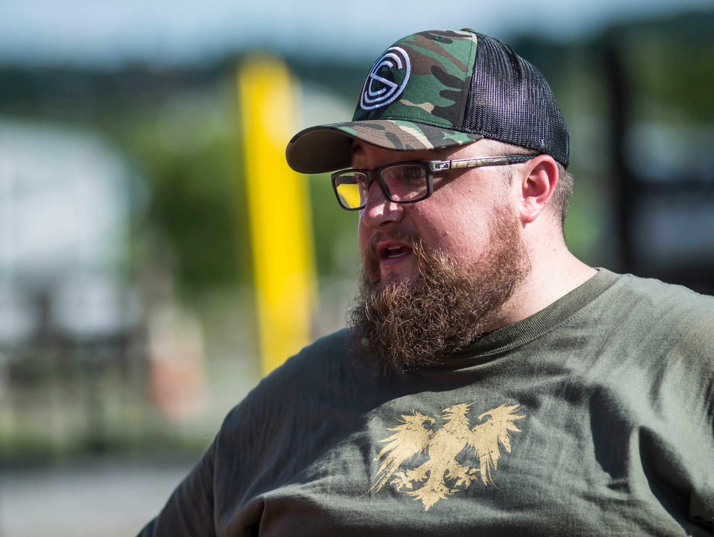 Craig Good, a salesman at Lanco Tactical in Elizabethtown,