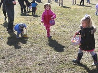 Morris Plains Recreation hosted breakfast with the Easter Bunny and an Easter Egg Hunt for all Morris Plains children Saturday March 28, 2015 photo by Ed Pagliarini
