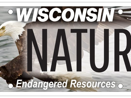 Wisconsin's eagle license plate debuted Sept. 1 and