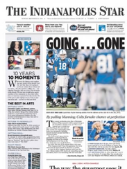 IndyStar A1 on Dec. 28, 2009