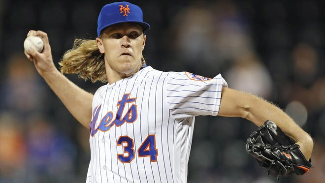 Right-hander Noah Syndergaard has agreed to a $9.7 million, one-year deal with the Mets to avoid salary arbitration.
