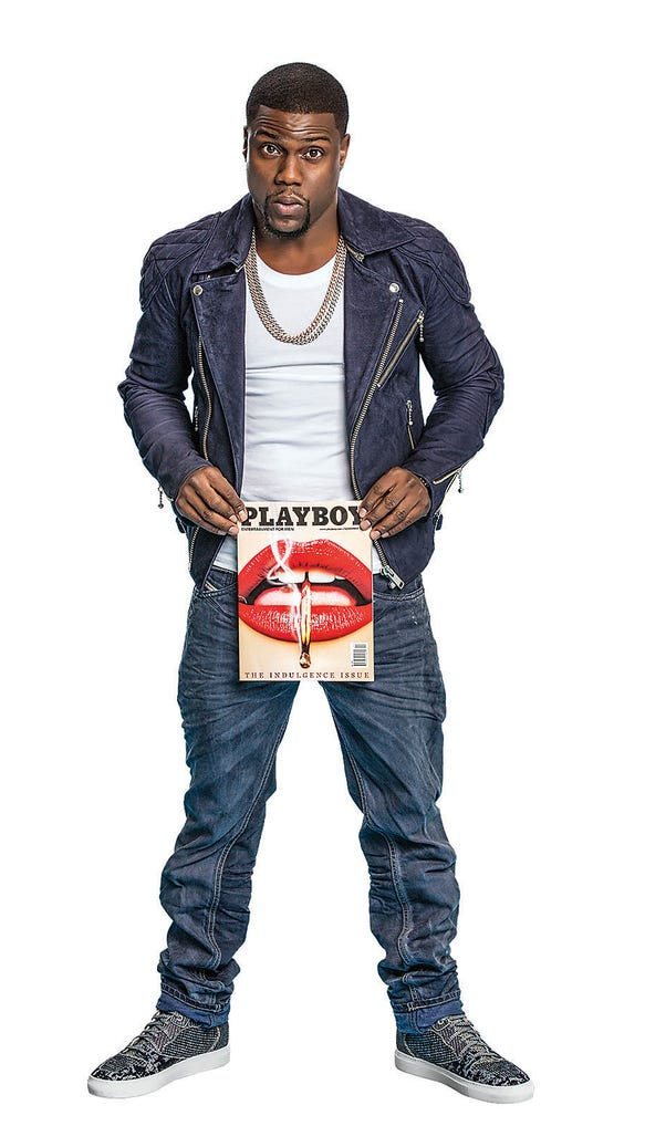 Kevin Hart in Playboy