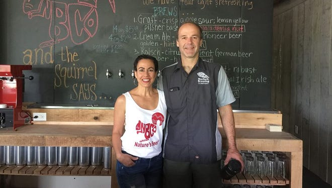 The Norfork Brewing Company is owned by Jason Aamodt and his wife, Bea. The brewery, located at 13980 Highway 5 S in Norfork, will have its grand opening this Saturday.