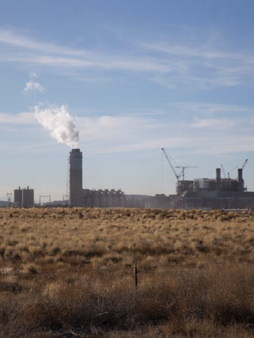 Four Corners Power Plant is pictured on Thursday, Jan.