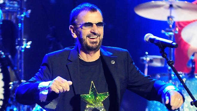 Ringo Starr and his All Starr Band perform in Las Vegas Nov. 22.